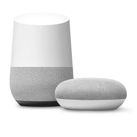 The Google home Speakers